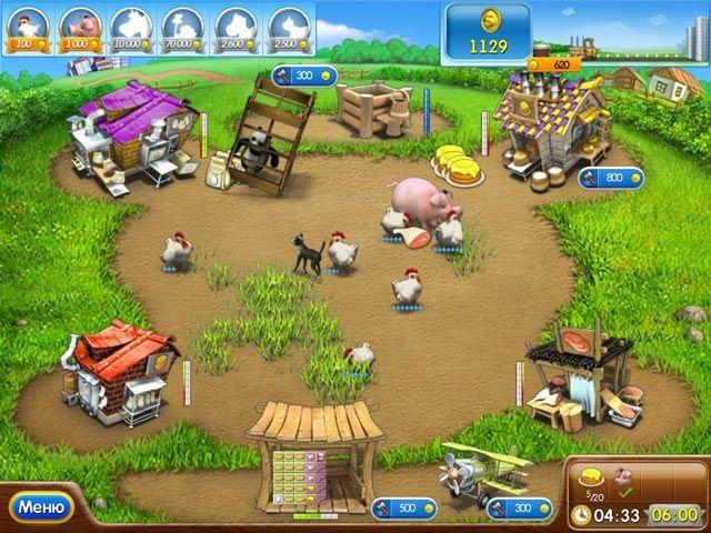 Веселая ферма 2 - Screenshot 3/7
